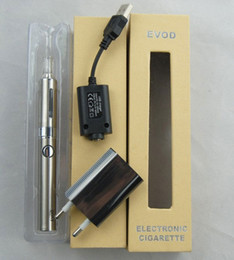 Wholesale Evod Set Box - Evod electronic cigarette set series in gift box different colors