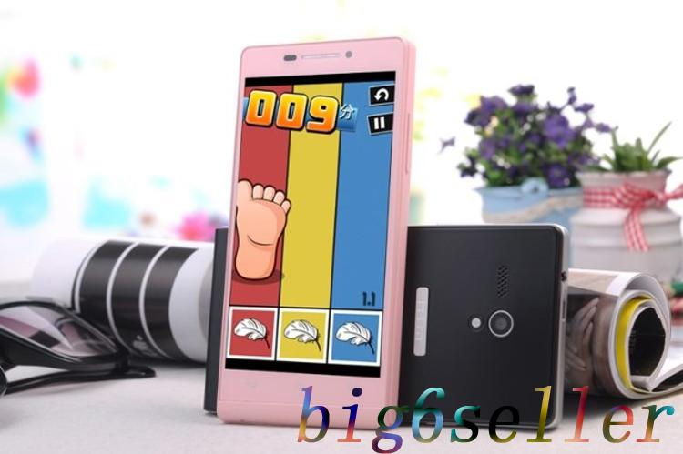 HTM A6 P6 MTK6572 Dual Core 1.2GHz 512MB RAM 4GB ROM Andriod 4.2 Android Phone 4.5 inch HD FWVGA Screen Dual SIM Dual Camera SmartPhones
