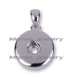 0119 nickel plating small Components pendant charms jewelry noosa chunk ginger snap charm pendant necklace jewelry