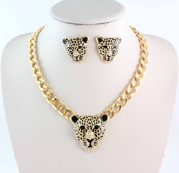 Wholesale Rihanna Gold Chain Necklace Jewelry - Mouse over image to zoom Have one to sell? Sell it yourself Rihanna Celebrity Jewelry Women Leopard Head Chunky Chain Necklace E