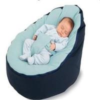 Wholesale Baby Portable Rocker - Wholesale-PROMOTION multicolor Baby Bean Bag Snuggle Bed Portable Seat Nursery Rocker multifunctional 2 tops baby beanbag chair ywxuege