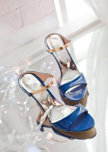 حار بيع سيدة مثير مع الكعب العالي حفلات الزفاف صندل سيدة النبيلة كعب زقزقة اصبع القدم الحجم: لنا 3-12 NL62