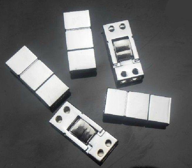 8mmシルバーカラークラスプチャームコネクタDIYアクセサリー内部DIA。 8mmベルトのための8mmフィット