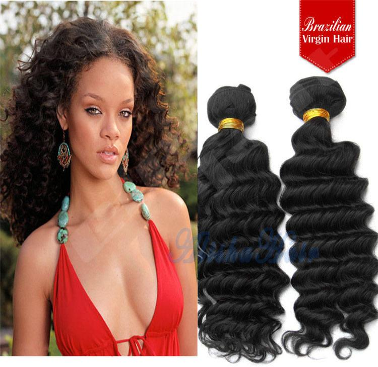 Cheap unprocessed indian deep curly wave virgin remy hair weave see larger image pmusecretfo Choice Image