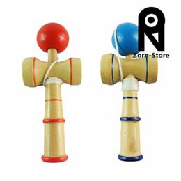 Wholesale Kendama Wooden - Zorn Store- HOT Japanese Wooden Game Toys Kentama Kendama Ball Skill Ball Mini Brachypodium Kendama Skills ball Free Shipping