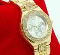 Wholesale Type Ladies Dress - Luxury Fashion lady dress watches quartz women gold silver watches lady wristband G type strap watches