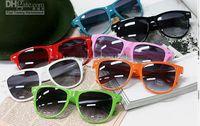 Wholesale Hot Sale Classic Sunglasses - 20PCS hot sale classic style sunglasses women and men modern beach sunglasses Multi-color sunglasses