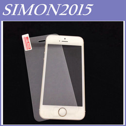 Wholesale Iphone4s Front Glass - Premium Real Tempered Glass Film Screen Protector for iPhone 4 4S 5 5S 5C Iphone5S Iphone5 Iphone4S Iphone4 Iphone5C With Retail Package