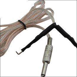 $enCountryForm.capitalKeyWord Australia - Tattoo supply 10 pcs transparent feet pedal Tattoo Clip Cords for Tattoo Power Supply Machine kits free shipping WY002*10