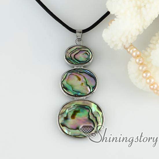 Wholesale white oyster shel rainbow abalone shell abalone pendants see larger image mozeypictures Image collections