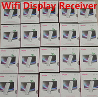 Wholesale dongle android tablet resale online - iPush D2 MELE I6 HDMI Multimedia AirPlay Wireless WiFi DLNA Display Dongle Receiver Sharing Multi Screen Interactive for Android iOS Tablet