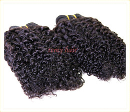 "Wholesale Malaysian Virgin Hair 4pcs 5a - New Collection 5A #1B 8""-32"" Mixed 4pcs lot 100% Virgin Malaysian Hair Extension Weft Queen Kinky Curly Free Shipping DHL Remy Hair Weave"