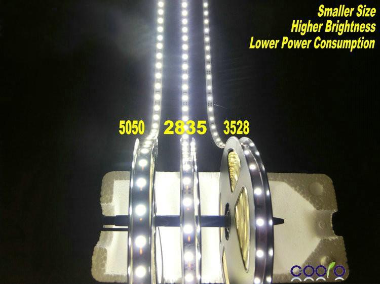 جديد وصول 2835 smd led قطاع الخفيفة بارد أبيض دافئ الأبيض الألوان 5 متر مرنة 16ft 60led / m 5 متر / وحدة للماء السوبر مشرق 12 فولت أفضل الأسعار