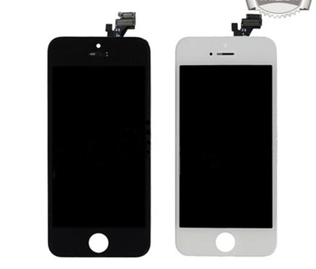 Great A+++ Brand New Tianma LCD Screen Display Touch Panel Digitizer Assembly Full Set for iPhone 5 5G Black and White