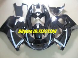 Wholesale 98 Gsxr Fairings - Motorcycle Fairing kit for SUZUKI GSXR 600 750 96-00 GSX-R 600 750 GSXR600 R750 96 97 98 99 00 White black Faiirngs set+7gifts