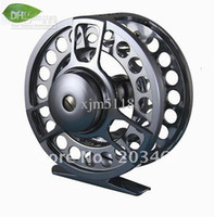 Wholesale Cnc Machined Fly Reel - Free shipping fly reel FG,6061AL.,CNC machine,changed easily from right to left hand via china post