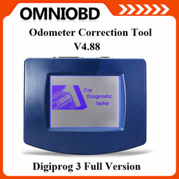 Wholesale Digiprog Update - Promotion Updated 2016 V4.94 Digiprog III Digiprog 3 Full Set Odometer Programmer With Full Software + All cables DHL Free shipping