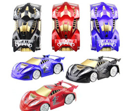 Wholesale Toys Climb Walls - New Toys,RC Wall Climbing Car , Remote Control Mini Wall Climbing Car with Light toys