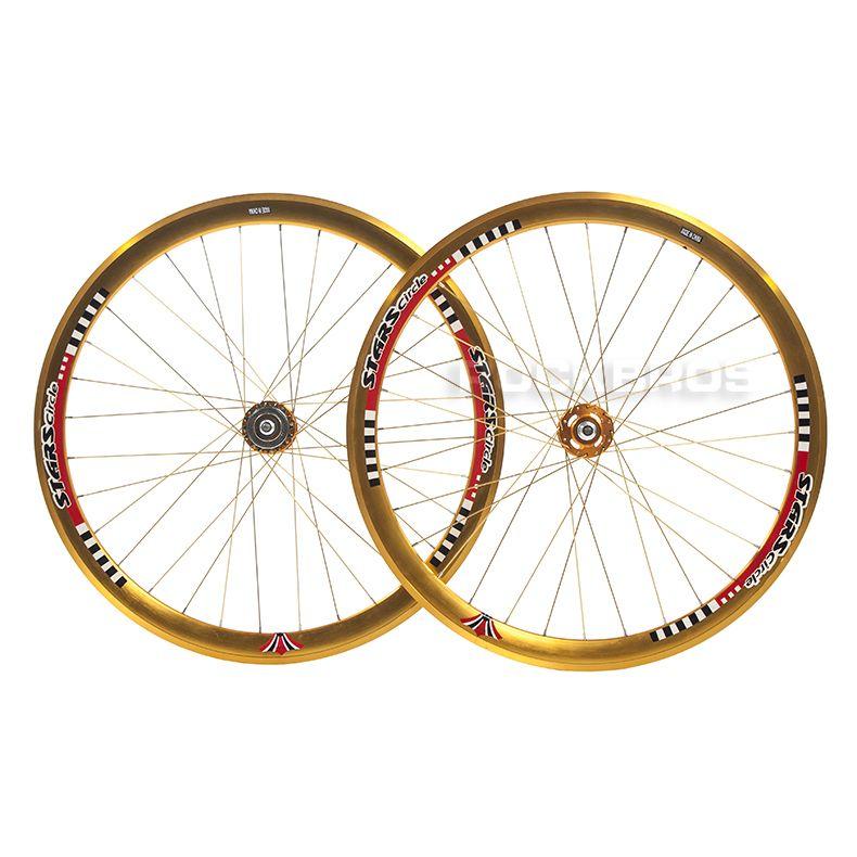 Stars Road Bike Single Speed Fixed Gear Fixie Track Wheels