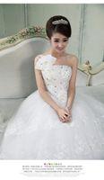 Wholesale Dress Wedding Suzhou - Suzhou edge of your dream wedding dress hy shoulder straps lace bridal wedding dress new 2013 models