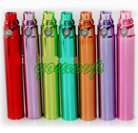 Wholesale Ego Coloful Battery - New Design Coloful EGO Battery 650mah 900mah 1100mah for E-Cigarette Ego-T, Ego-K,Ego-W DHL Free Mix Color
