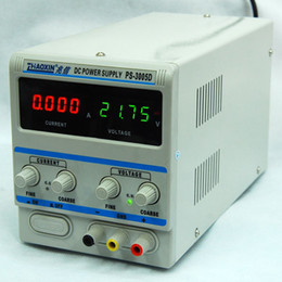 Wholesale Digital Supply Voltage - PS-3005D Variable 30V 5A DC Power Supply Source Equipment Machine For Lab with 4 digital display for current and voltage 110V 220