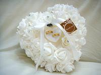ingrosso scatola di anelli di rosa bianca-2019 New Wedding Favors Anello Cuscino a forma di cuore con Transprent Ring Box 5 Colori Very Special Unico bianco Ring Box Cuscino Fascinator Favor