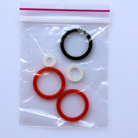Cheap orings paintball Best Red,black, clear orings for remote hose line soft flexible paddles