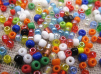 Wholesale Glass Beads For Sewing - 10000pcs 2mm Mix Colors Hole Glass beads For Sewing Cross Stitch Jewelry Acessorie