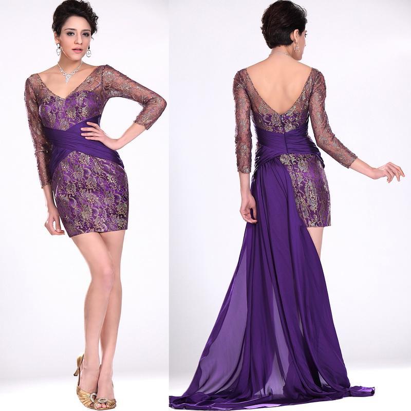 Ausgezeichnet Lace Prom Dresses 2014 Bilder - Brautkleider Ideen ...