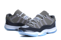 Wholesale Cheapest Men S Shoes - Wholesale Retro XI 11 Cool Grey Retro GS 2010 Men Size Space Jam Concord Royal Jix Basketball Shoes Men s Sports Shoes Online Cheapest Sale
