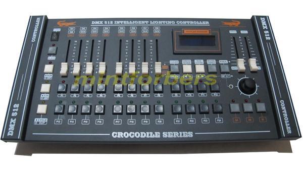 DMX 콘솔 Dmx 컨트롤러 504 채널 조이스틱 스테이지 조명 장비