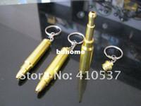 cadenas funky al por mayor-Envío gratis 5 unids / lote MINI Funky tubo de metal pipa de fumar GT 5149 llavero de oro