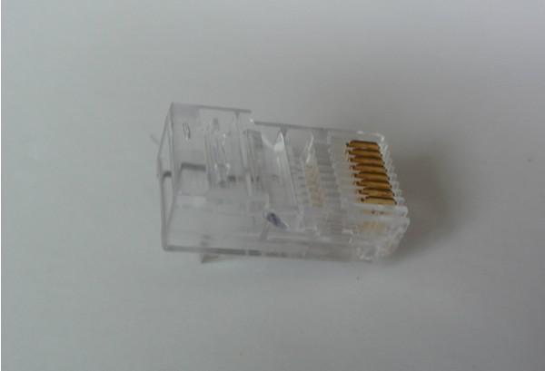 Conector de rede modular / da tomada do RJ45 RJ-45 CAT5 da qualidade de Hight