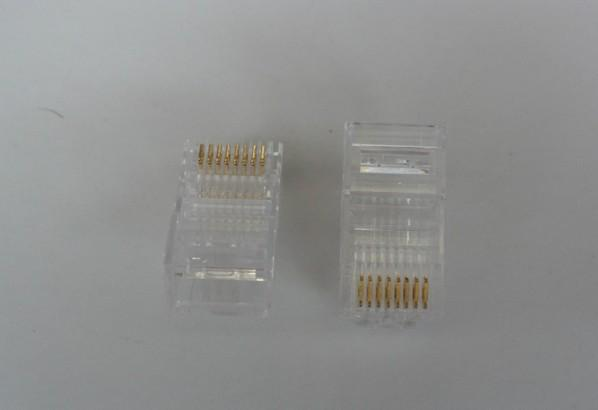 Connecteur / de réseau de prise modulaire de la qualité RJ45 RJ45 de Hight de qualité