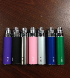 Wholesale Ego C Battery Colors - Top Quality 650mAh 900mAh 1100mAh eGo-T eGo W eGo C Electronic Cigarette Battery Multi Colors
