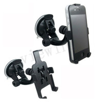 Wholesale Car Window Suction Mount - CAR PHONE HOLDER WINDOW SUCTION MOUNT FOR iPHONE 5 4S 4G With retail package