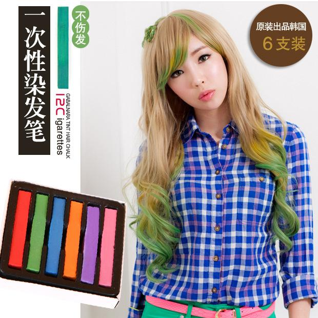 Fashion Hair Chalk Fashion Color Hair Chalk Dye Pastels Temporary