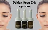 kaliteli dövme makyajı toptan satış-Ücretsiz kargo 3 renkler Yeni Güzellik Kalıcı makyaj pigment yüksek kalite sıcak satış dövme mürekkep seti Kozmetik kaynağı
