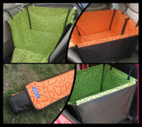 Wholesale Cradle Dog Car - 60Pcs lot Pet Dog Cat Waterproof Car Seat Cover Mat Blanket Cradle Bed Rear Back Pets Hammock Cushion Protector P62