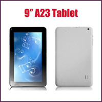 Wholesale 9 inch Allwinner A23 Dual Core Android Tablet PC GHz MB RAM GB ROM Dual Camera Wifi GooglePlay Retail