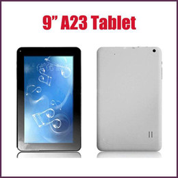 dual core a23 tablet 2019 - 9 inch Allwinner A23 Dual Core Android 4.4 Tablet PC 1.5GHz 512MB RAM 8GB ROM Dual Camera Wifi GooglePlay Retail