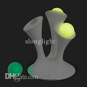 5PCS/Box SLONGLIGHT NEW DESIGN Romantic Color changing Glo Nightlight with Portable Glowing Balls,globe lamp Christmas Gift baby toy