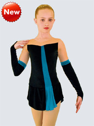Butterfly Ice figure skating competition figure skating dresses custom apparel imports of Korean velvet fabric