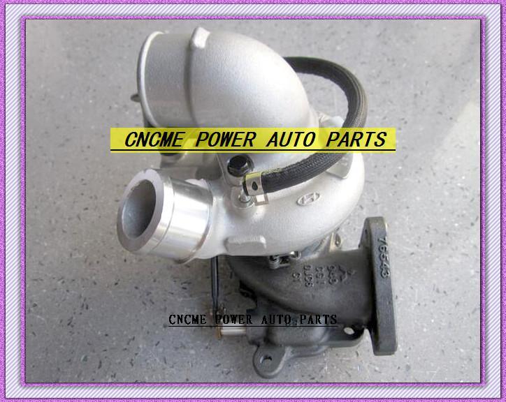Melhor TURBO GT1749S 49135-04350 28200-42800 49135 04350 28200 42800 Turbocompressor da turbina para Hyundai Grand Starex 1.5L 110HP refrigerado a água