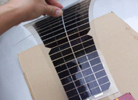 Wholesale Flexible Solar Panels For Boats - 10W 18V half-flexible monocrystalline solar panel very thin,light for outdoor Diy,Car,Boat,12V battery and charger