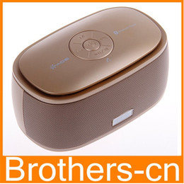 Wholesale Beat Box Bluetooth - DGZHE A06 Bluetooth Wireless Speaker Fancy Soap Mini Portable Hi- Fi Stereo Beat Box Music Box Answer Phone Speakers For Phone Samsung S3 S5