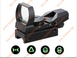 Wholesale Types Red Dot Sights - Drss New Arrival Tactical Multi Reticle Holographic 1x22x33 Reflex Red   Green Dot Sight Type C Style(DS5039C)