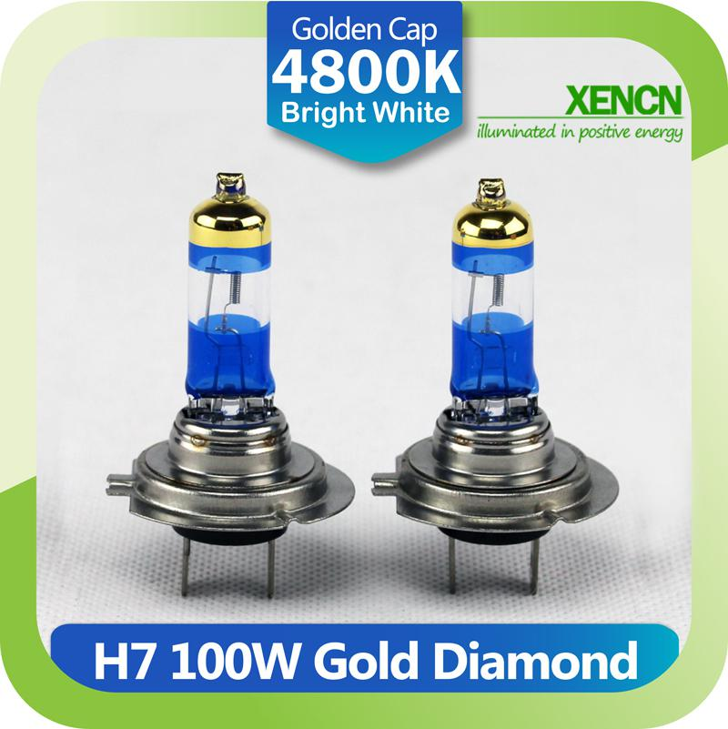 xenon h7 12v 100w 4800k gold diamond replacement for osram. Black Bedroom Furniture Sets. Home Design Ideas