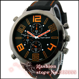 Wholesale V6 Big - 2014 New Arrival V6 Fashion Sports Crazy Sales 5 CM Big Face Watch Men Drop Shipping AL1297